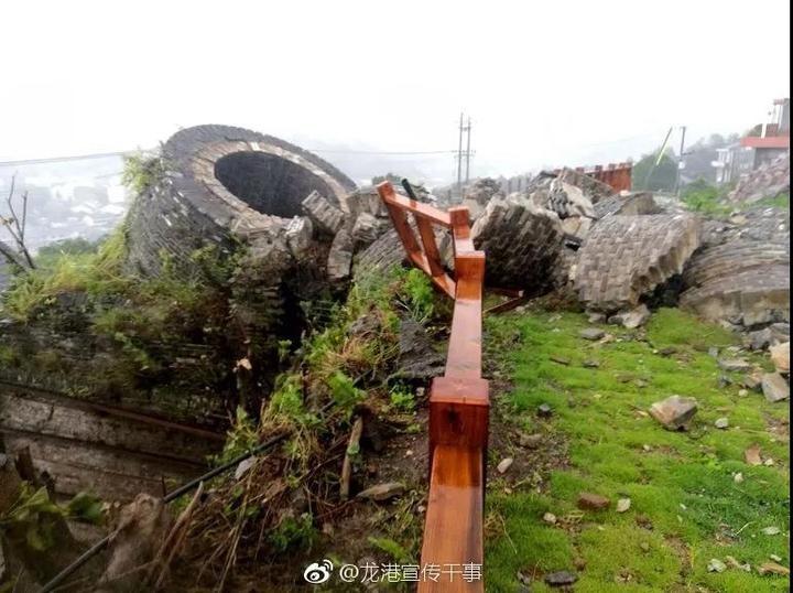"""追踪丨被台风毁坏的""""世界矾都""""标志性建筑能否恢复"""