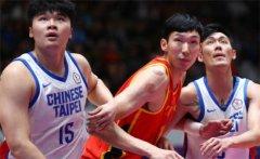 中国男篮大胜中国台北 林志杰没有参赛