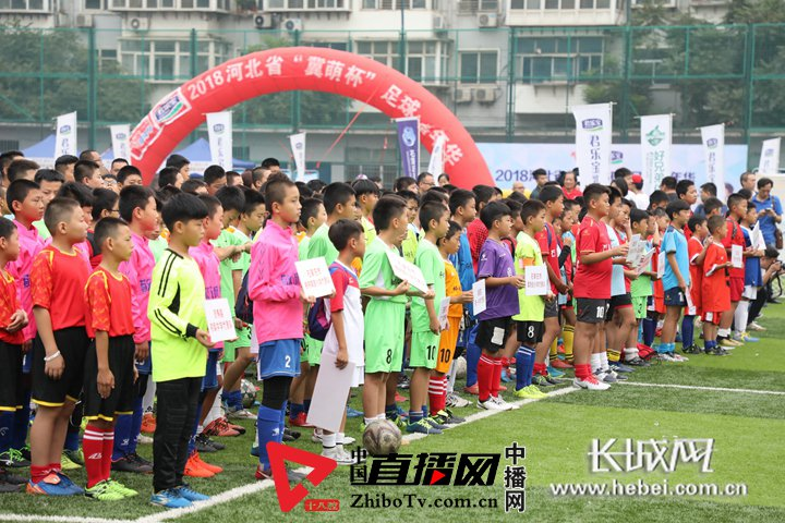 """石家庄市第三届""""市长杯""""青少年足球比赛正式开赛"""