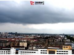 江苏仪征:堆积云罩真州