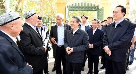 郭声琨在新疆调研时强调