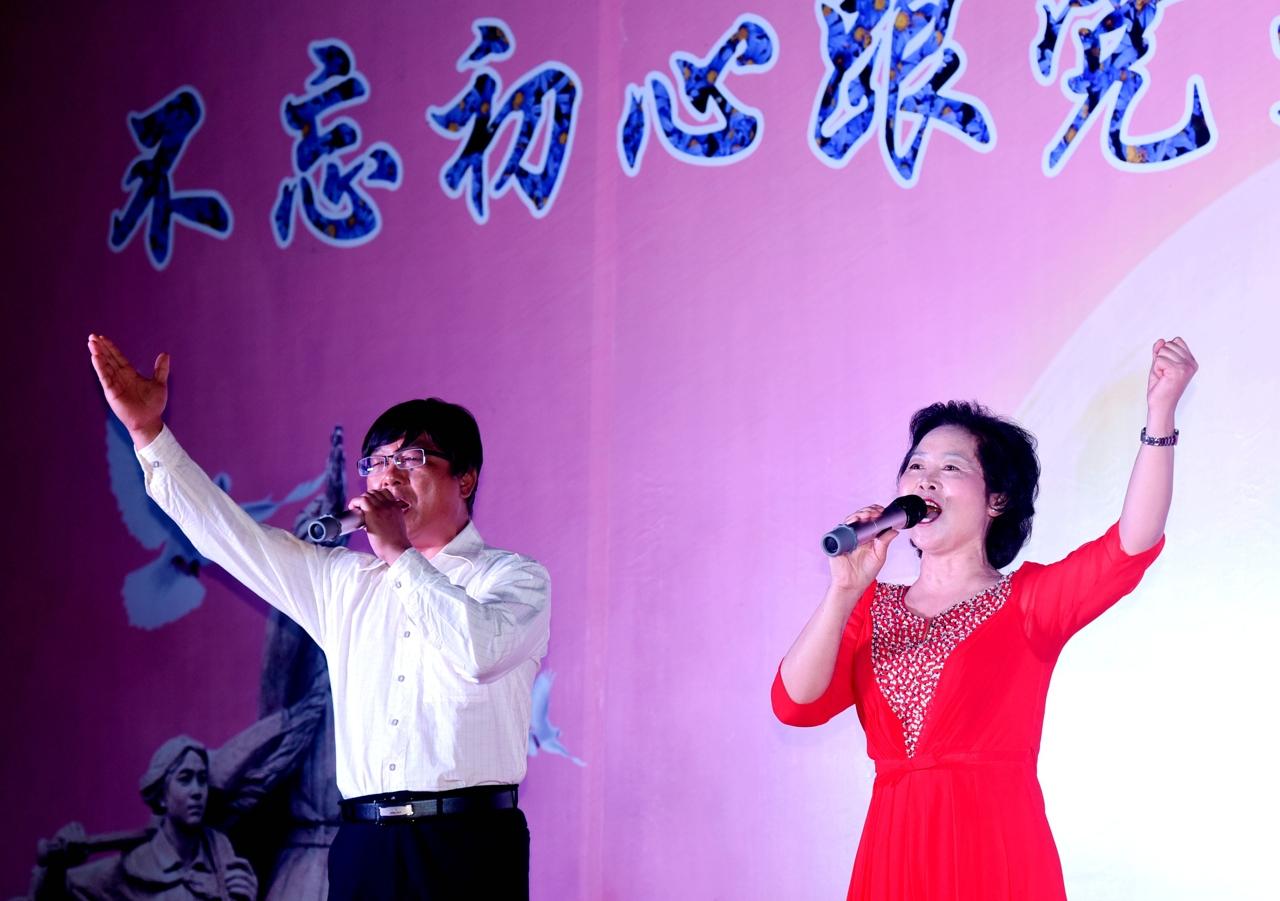 江苏仪征:庆国庆喜