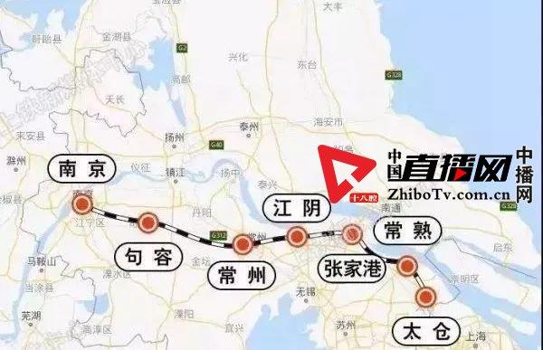 上海 江苏更便捷,江苏南沿江城际铁路开工啦!