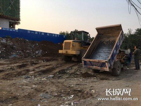 【民生回音】行动迅速 石家庄市鹿泉区台头村生活垃圾
