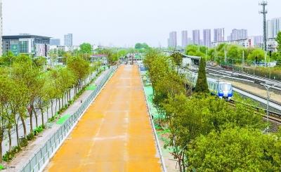 回龙观至海淀上地 首条自行车专用路5月底完工