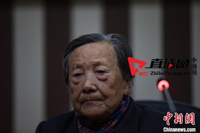 南京大屠杀幸存者夏淑琴:要世世代代和平 永远和平