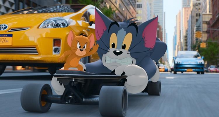 """<b>《猫和老鼠》曝""""爆笑互斗""""版预告 机灵鼠与汤姆猫高能过招</b>"""